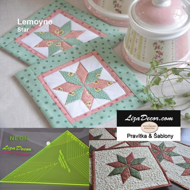 Patchwork Ruler Lemoyne Star