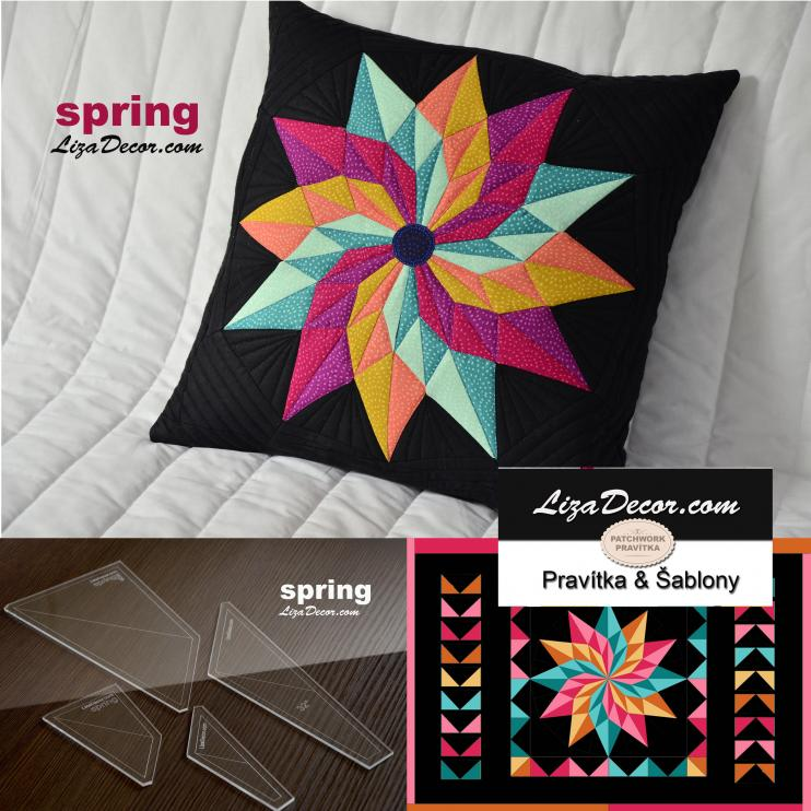 Patchwork templates  Spring Small