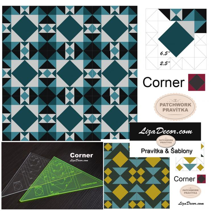 Patchwork Ruler Corner