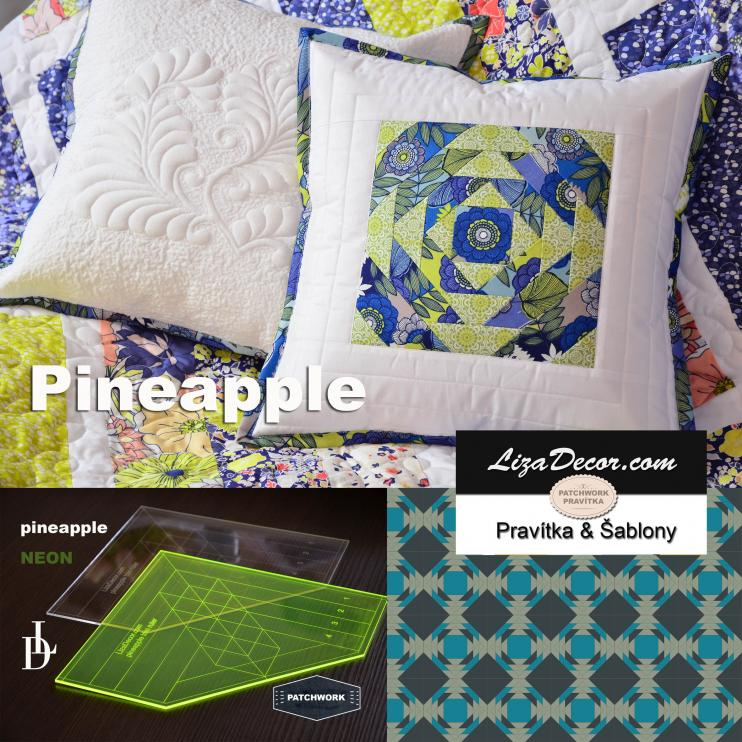 Patchwork Lineal Pineapple Large